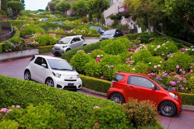 2014 Scion iQ Glams Up With Two-Tone EV and Monogram Editions 4