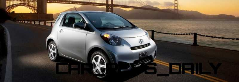 2014 Scion iQ Glams Up With Two-Tone EV and Monogram Editions 5
