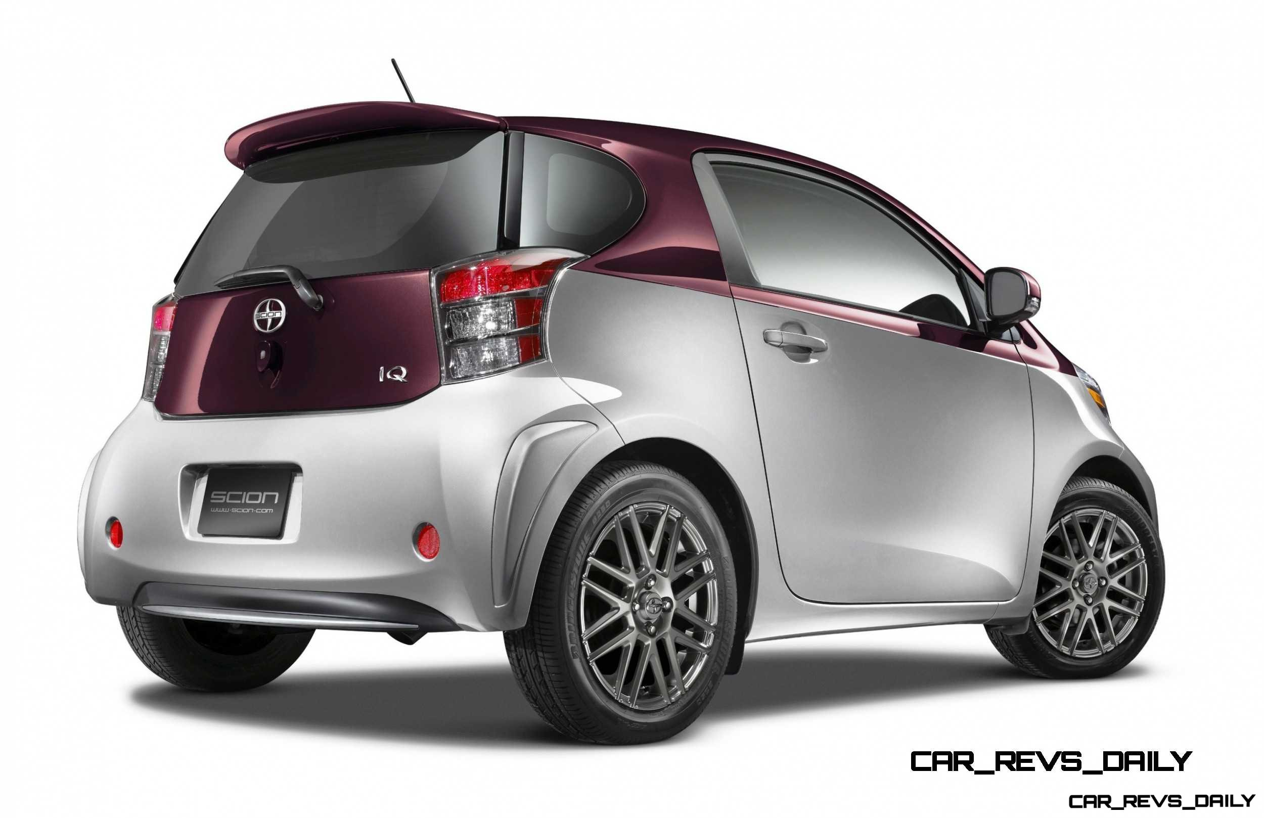 2014 scion iq glams up with two tone ev and monogram editions 58. Black Bedroom Furniture Sets. Home Design Ideas