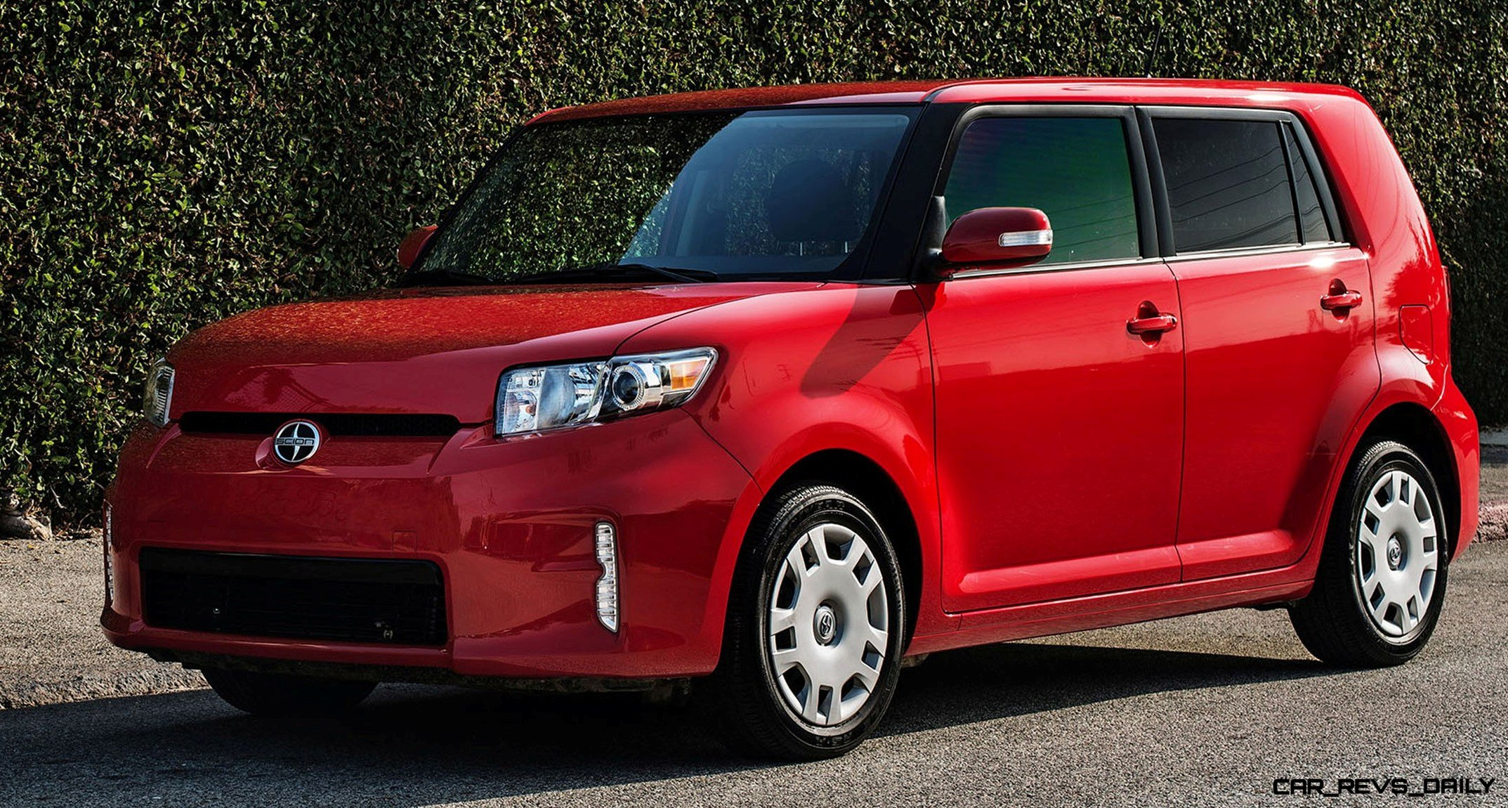 2014 scion xb red 1. Black Bedroom Furniture Sets. Home Design Ideas