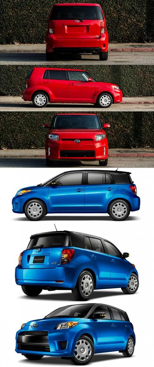 2014 Scion xB Red 6-vert