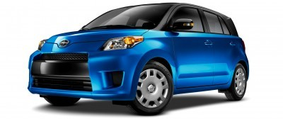 2014 Scion xD Blue Black Two-Tone 1