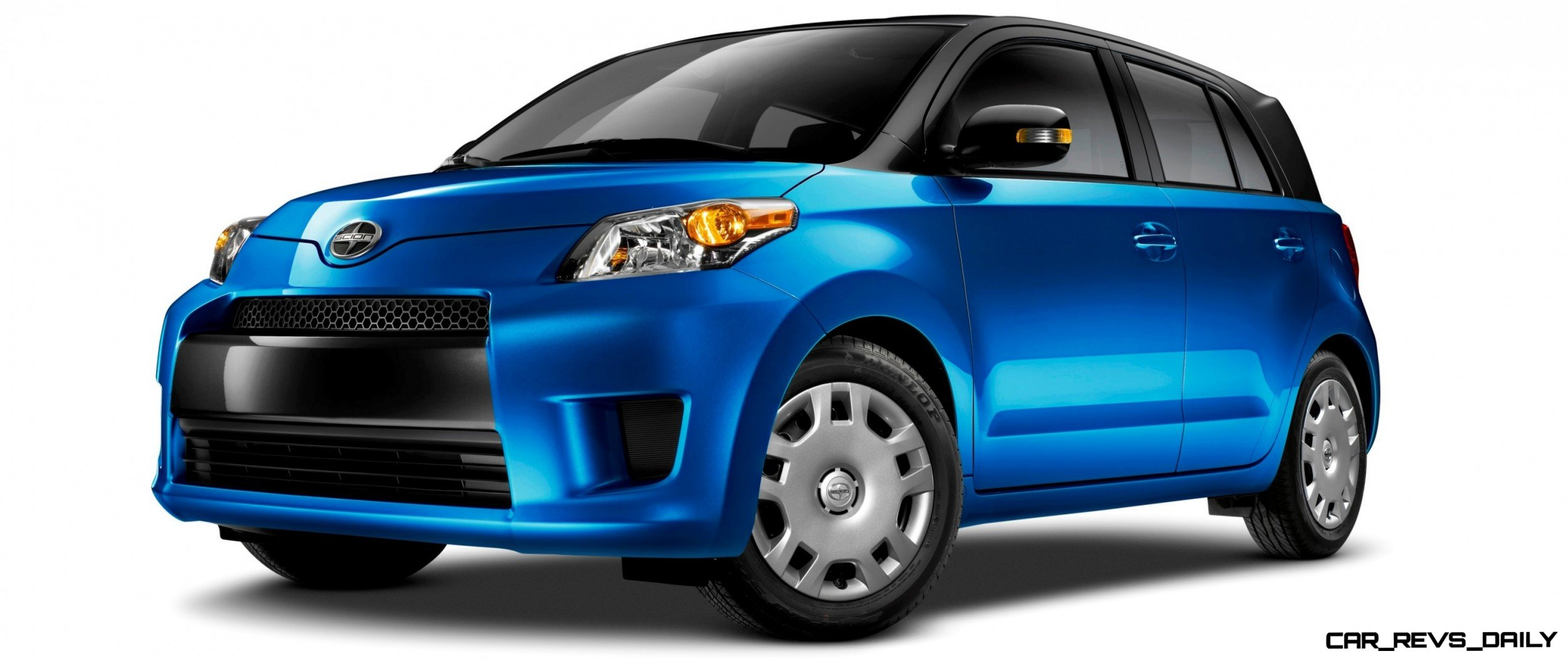 4 Scion xD Blue Black Two-Tone 4