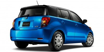 2014 Scion xD Blue Black Two-Tone 2