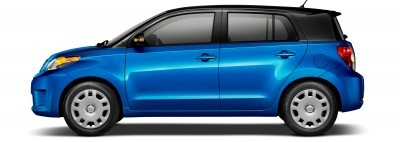 2014 Scion xD Blue Black Two-Tone 3