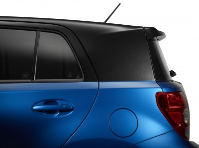 2014 Scion xD Blue Black Two-Tone 4