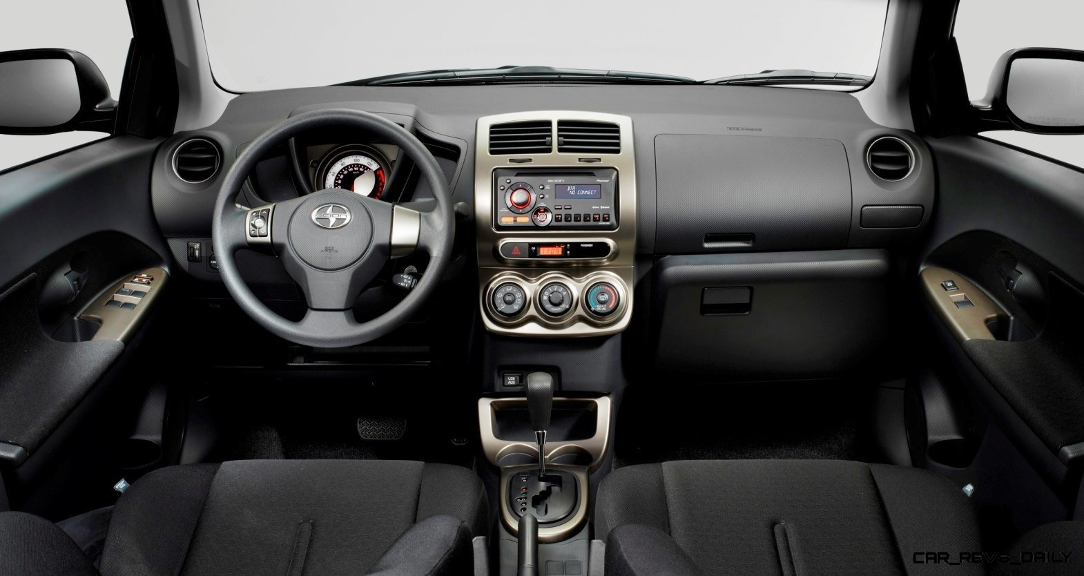 2014 Scion xD Blue Black Two-Tone 5