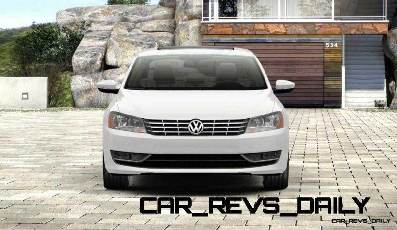 2014 VW Passat V6 SEL 1