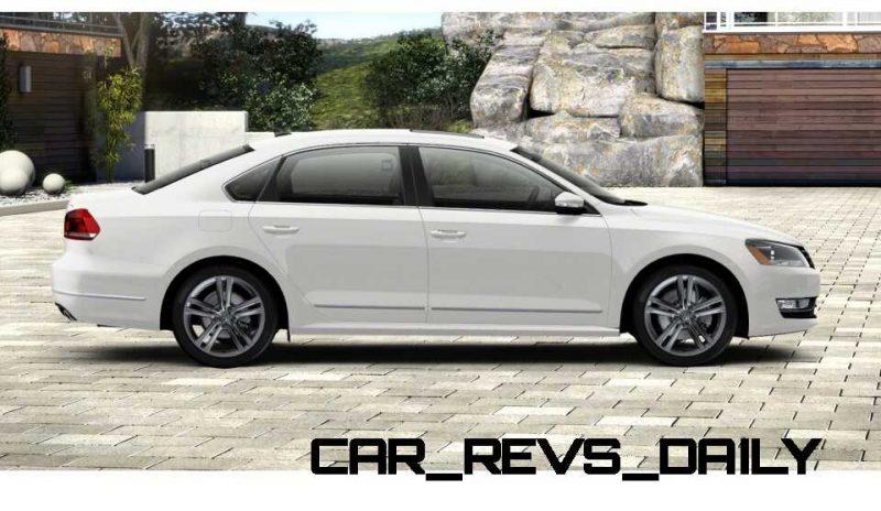 2014 VW Passat V6 SEL 3