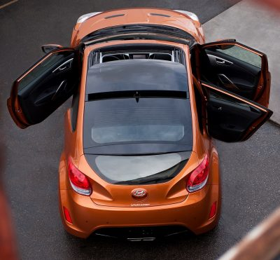 2014 Veloster R-Spec New for 2014 with Nurburgring Chassis Tech 11