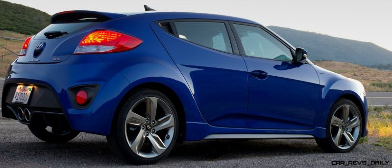 2014 Veloster R-Spec New for 2014 with Nurburgring Chassis Tech 19