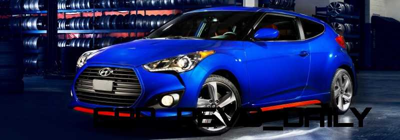 2014 Veloster R-Spec New for 2014 with Nurburgring Chassis Tech 23