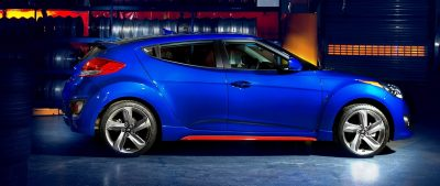 2014 Veloster R-Spec New for 2014 with Nurburgring Chassis Tech 24