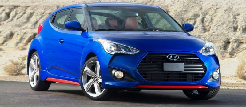 2014 Veloster R-Spec New for 2014 with Nurburgring Chassis Tech 25