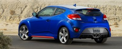 2014 Veloster R-Spec New for 2014 with Nurburgring Chassis Tech 26