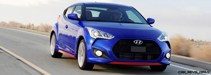 2014 Veloster R-Spec New for 2014 with Nurburgring Chassis Tech 29