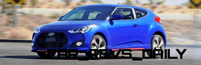 2014 Veloster R-Spec New for 2014 with Nurburgring Chassis Tech 32