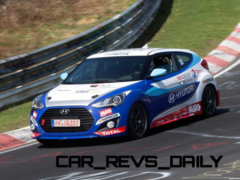 2014 Veloster R-Spec New for 2014 with Nurburgring Chassis Tech 56