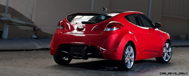 2014 Veloster R-Spec New for 2014 with Nurburgring Chassis Tech 9