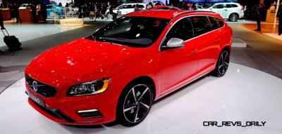 2014 Volvo V70 R LA Debut1