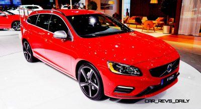 2014 Volvo V70 R LA Debut2