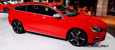 2014 Volvo V70 R LA Debut3