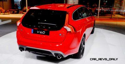2014 Volvo V60 R LA Debut5