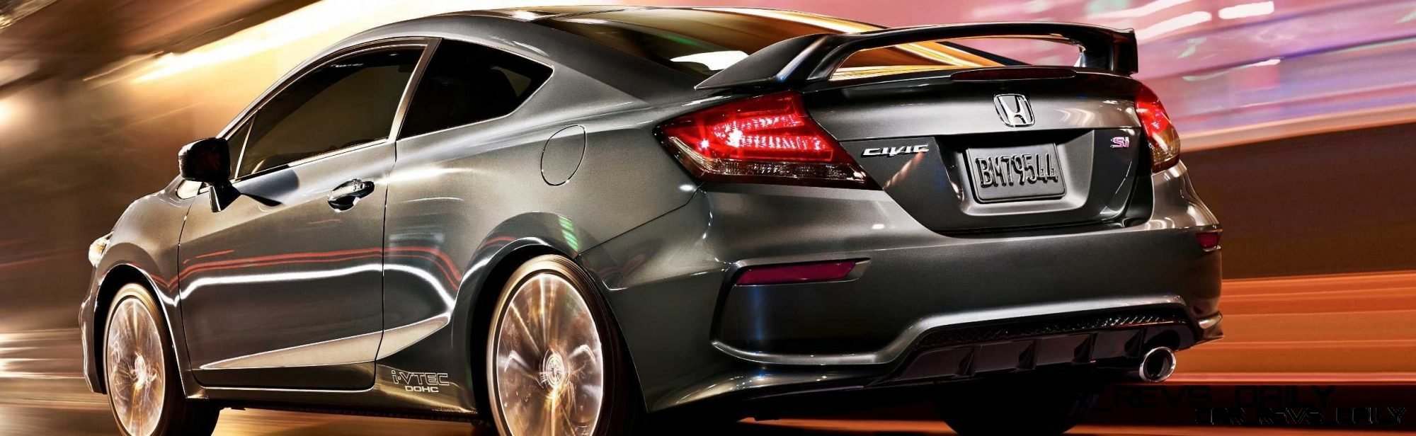 2014 civic si coupe first night sighting great looking leds. Black Bedroom Furniture Sets. Home Design Ideas