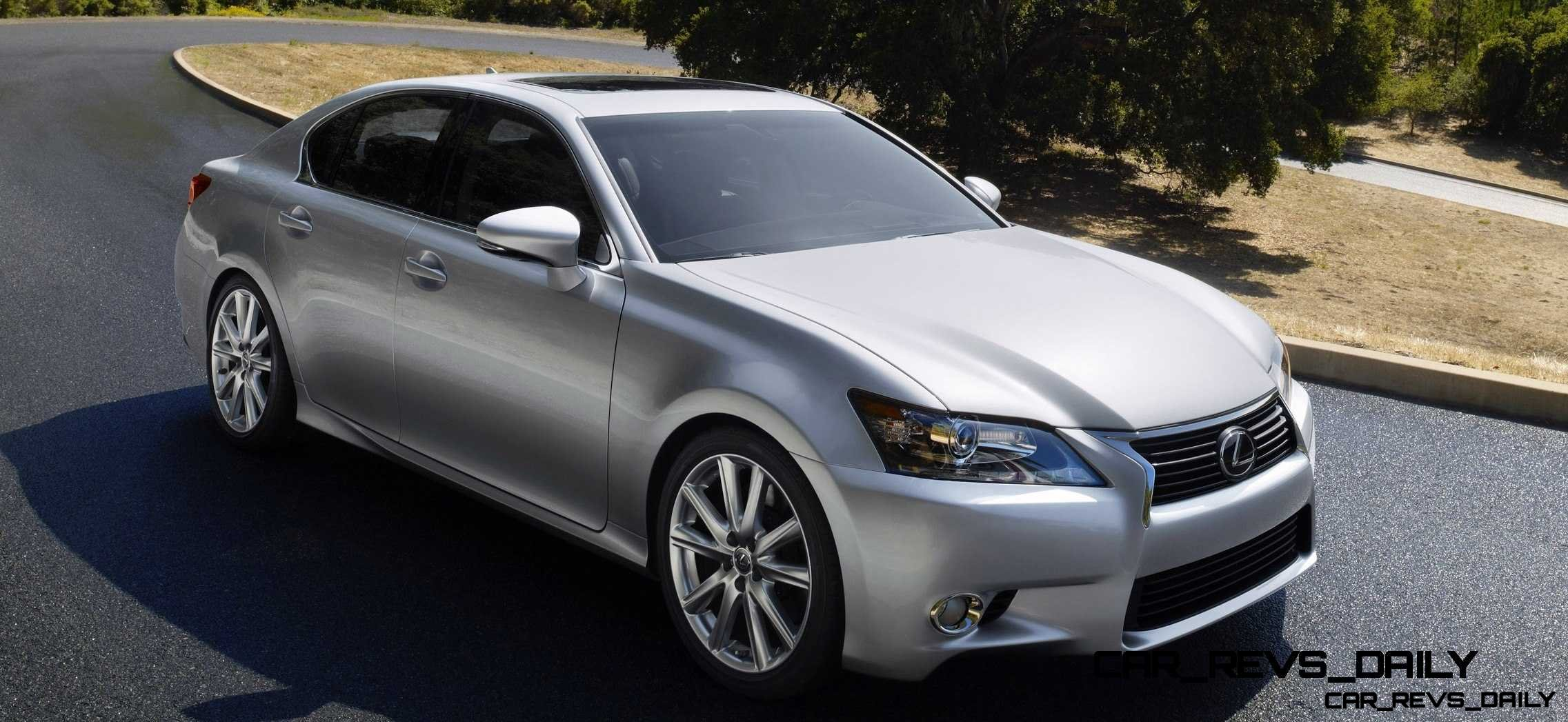 road test review 2014 lexus gs350 awd is quick and balanced with killer 835w audio system. Black Bedroom Furniture Sets. Home Design Ideas