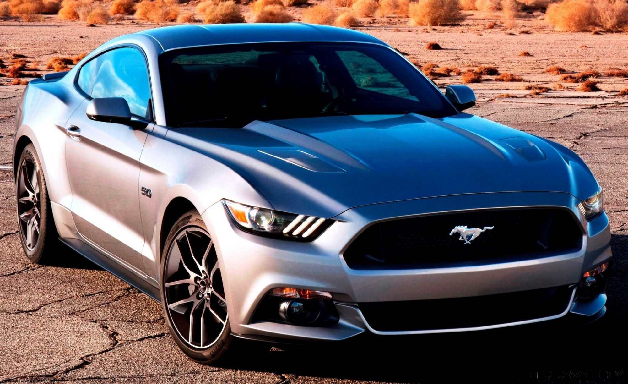 2015 ford mustang gt in silver - nearly 50 all-new images