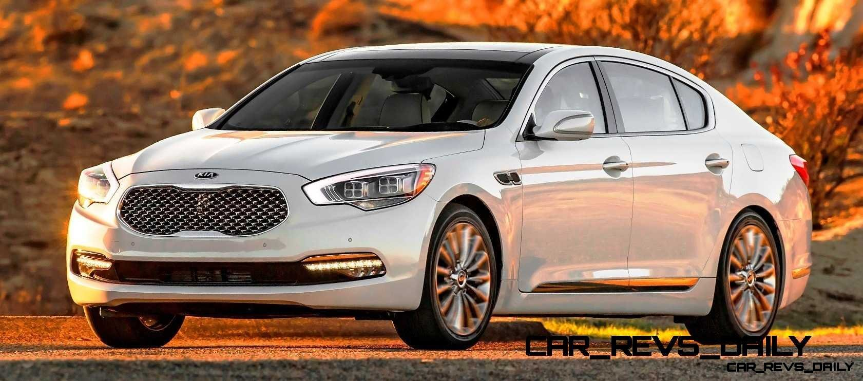 2015 K900 Kia New RWD Flagship 16