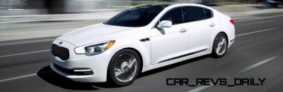 2015 K900 Kia New RWD Flagship 19