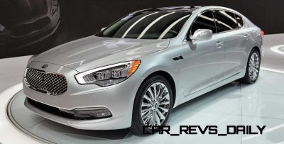 2015 K900 Kia New RWD Flagship 21