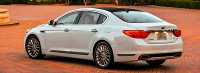 2015 K900 Kia New RWD Flagship 8