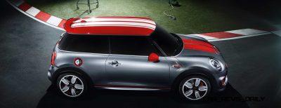 2015 MINI Cooper JCW Concept Brushed-Alloy Paints Hot Bod 12