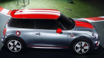2015 MINI Cooper JCW Concept Brushed-Alloy Paints Hot Bod 12