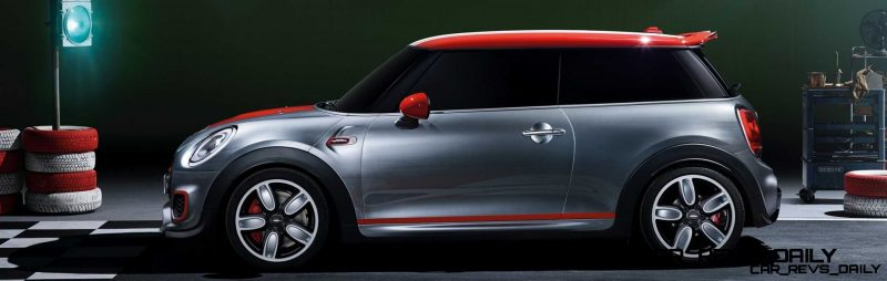 2015 MINI Cooper JCW Concept Brushed-Alloy Paints Hot Bod 14