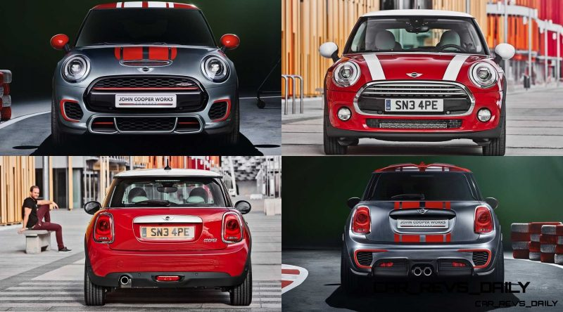 2015 MINI Cooper JCW Concept Brushed-Alloy Paints Hot Bod 6