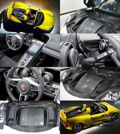 2015 Porsche 918 Spyder CarRevsDaily Yellow13-tile