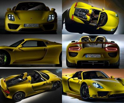 2015 Porsche 918 Spyder CarRevsDaily Yellow17-tile1