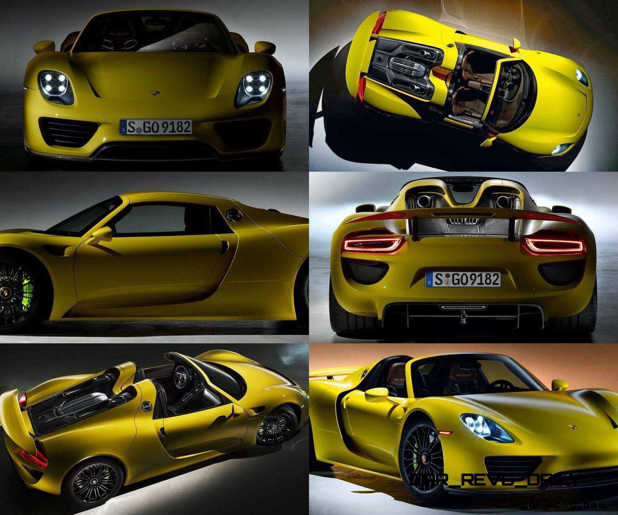Porsche 918 Spyder: HD Video: 918 Spyder In Hot Track Session + Latest Yellow