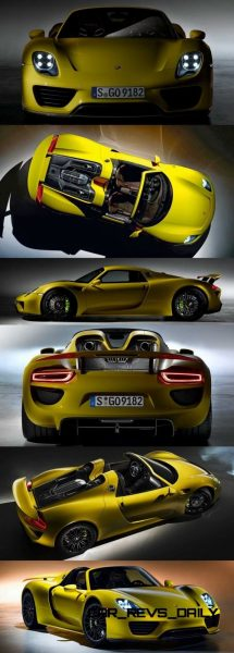 2015 Porsche 918 Spyder CarRevsDaily Yellow17-vert