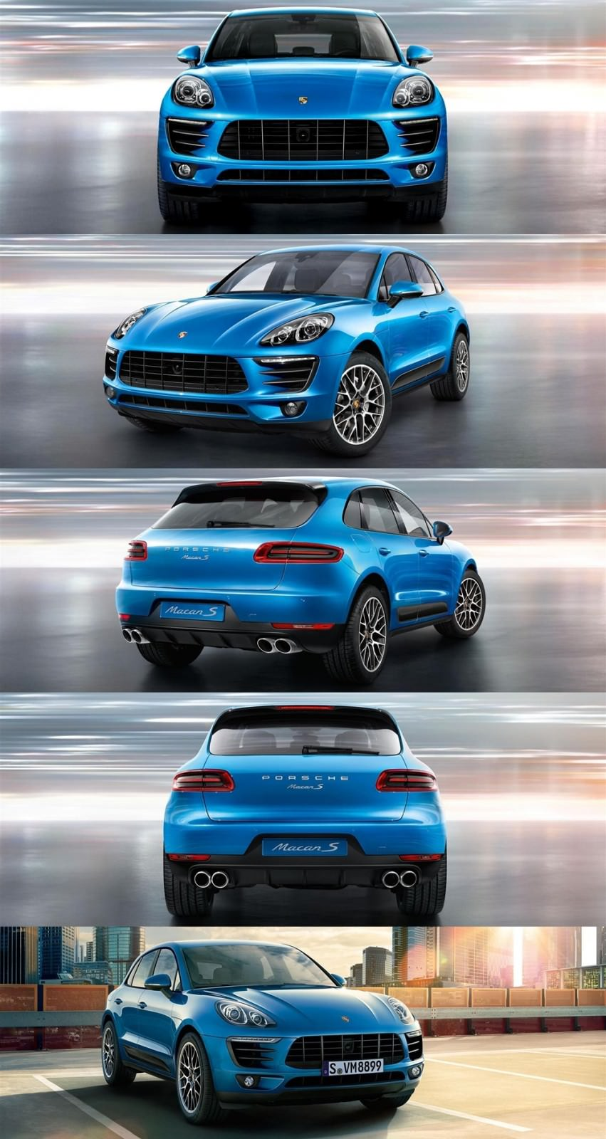 Updated With 50 New Photos 2015 Porsche Macan S And Macan Turbo
