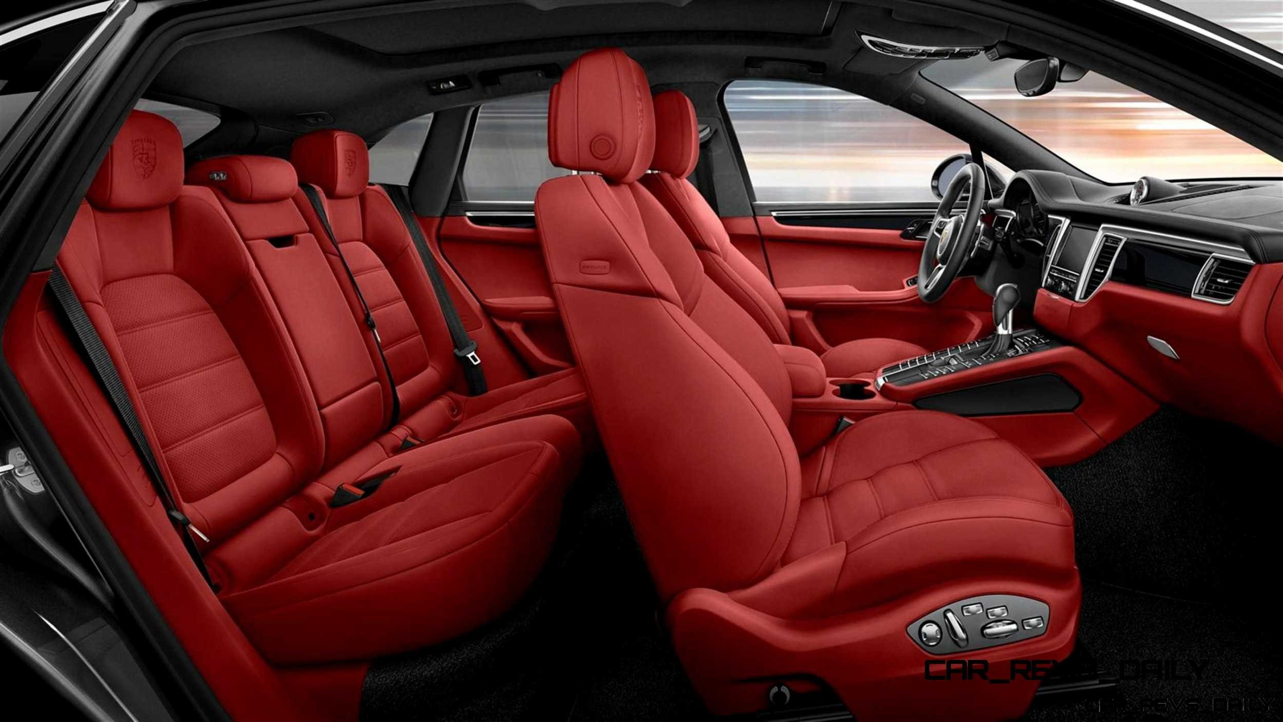 Update1 2015 Porsche Macan Turbo And Macan S Interior