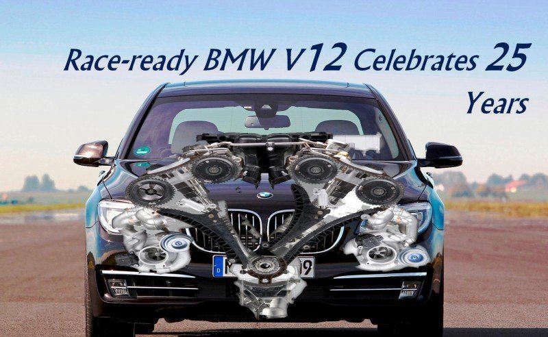 BMW V12 Celebrates 25 Years Engine outside image header9