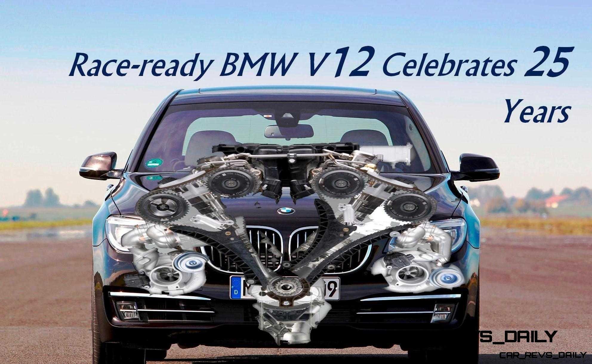 BMW V12 Celebrates 25 Years Engine Outside Image Header9