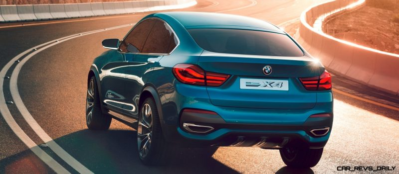 BMW X4 Teaser Shows LEDetails 16