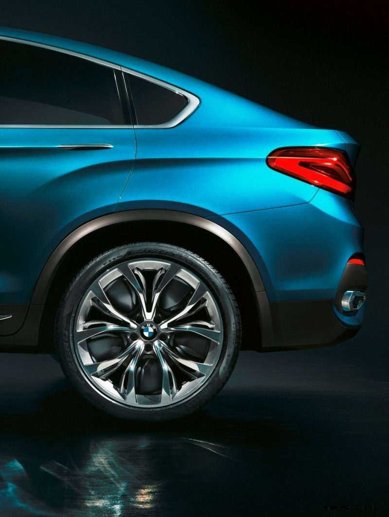 BMW X4 Teaser Shows LEDetails 2