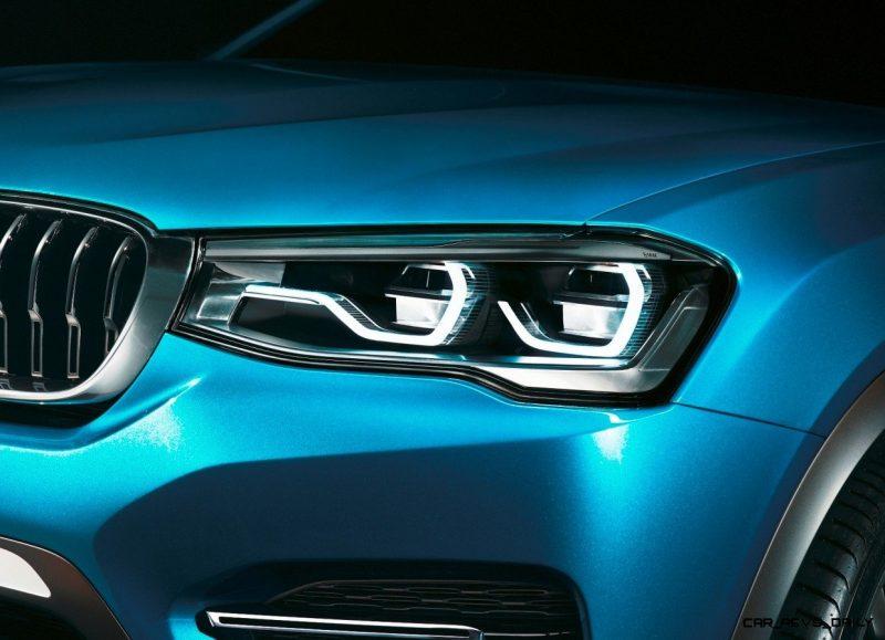 BMW X4 Teaser Shows LEDetails 4