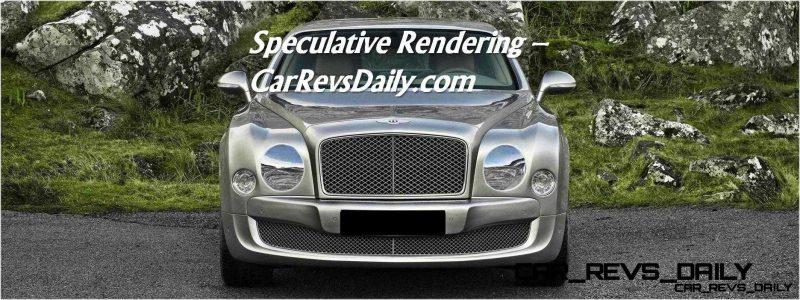 Bentley Mulsanne Nose Fix Rendering